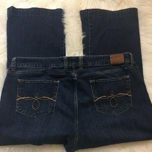 Lucky Brand Jeans Ginger Boot Cut Denim Petite